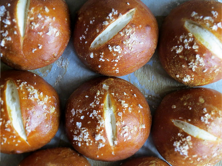 pretzel buns fresh 2