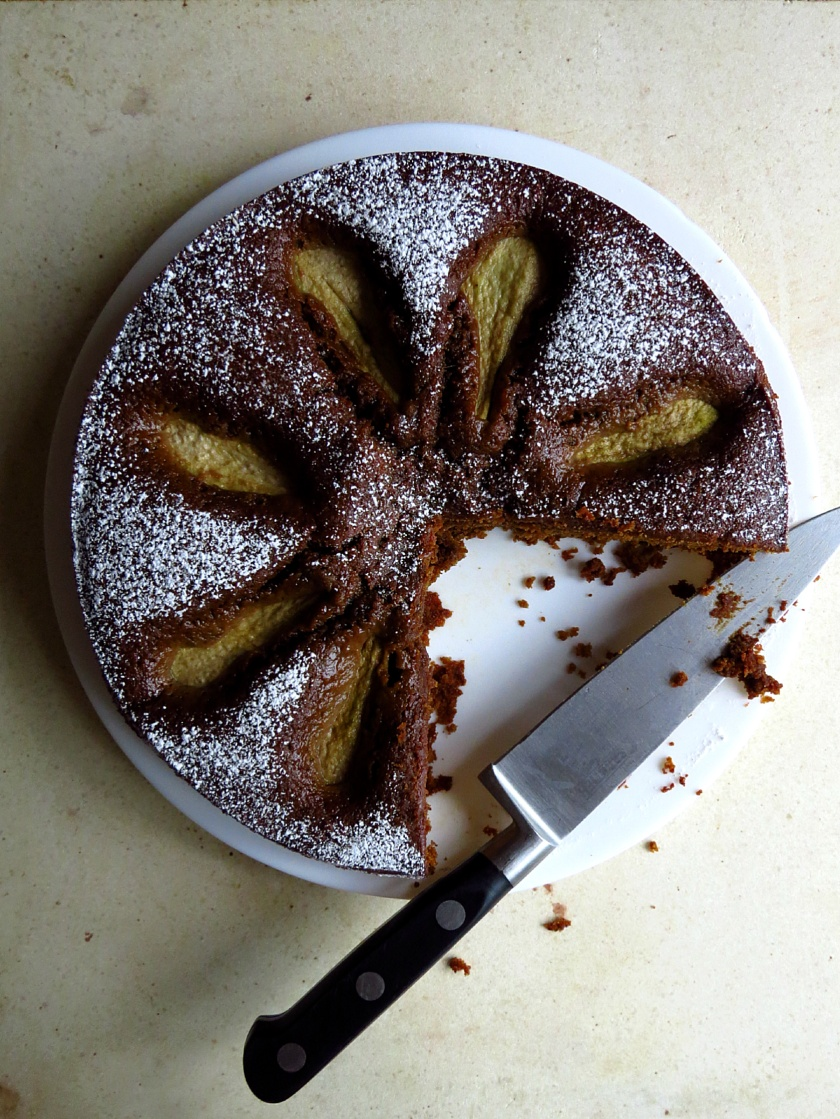 Ginger and Pear cake 1