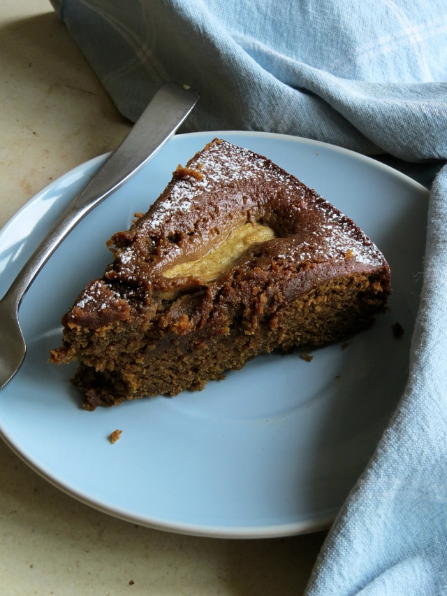 Ginger and Pear slice