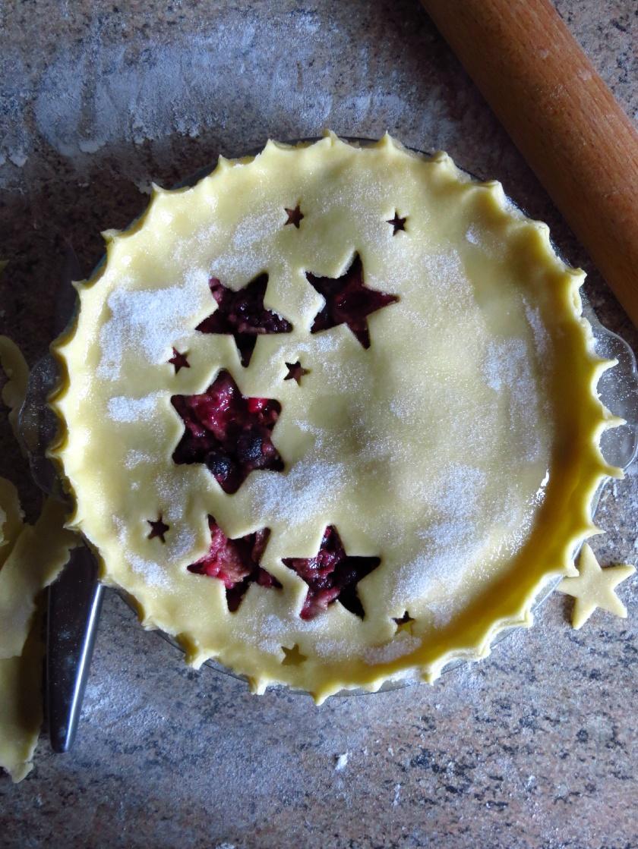 making of pie