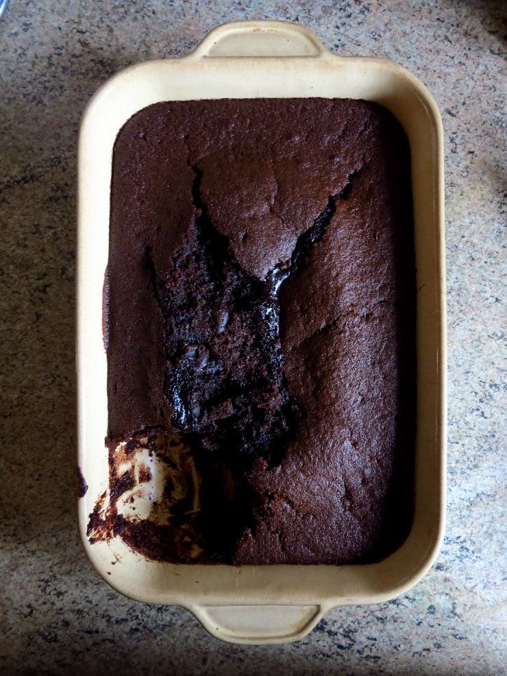 Baked Chocolate Ale Cake